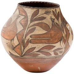 Turn of the Century Zia Pueblo Pottery Olla