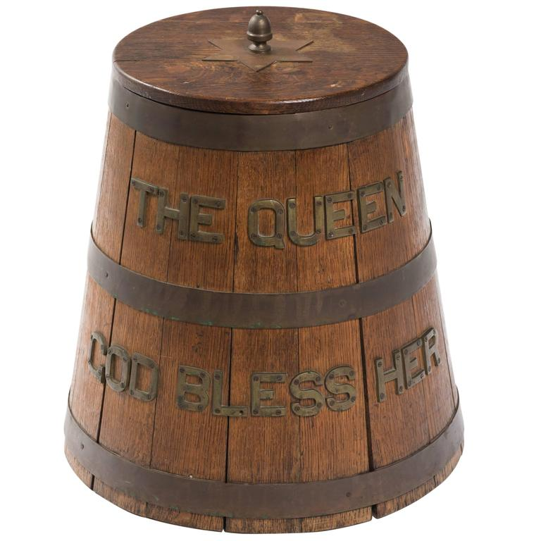 """The Queen God Bless Her"" Barrel"