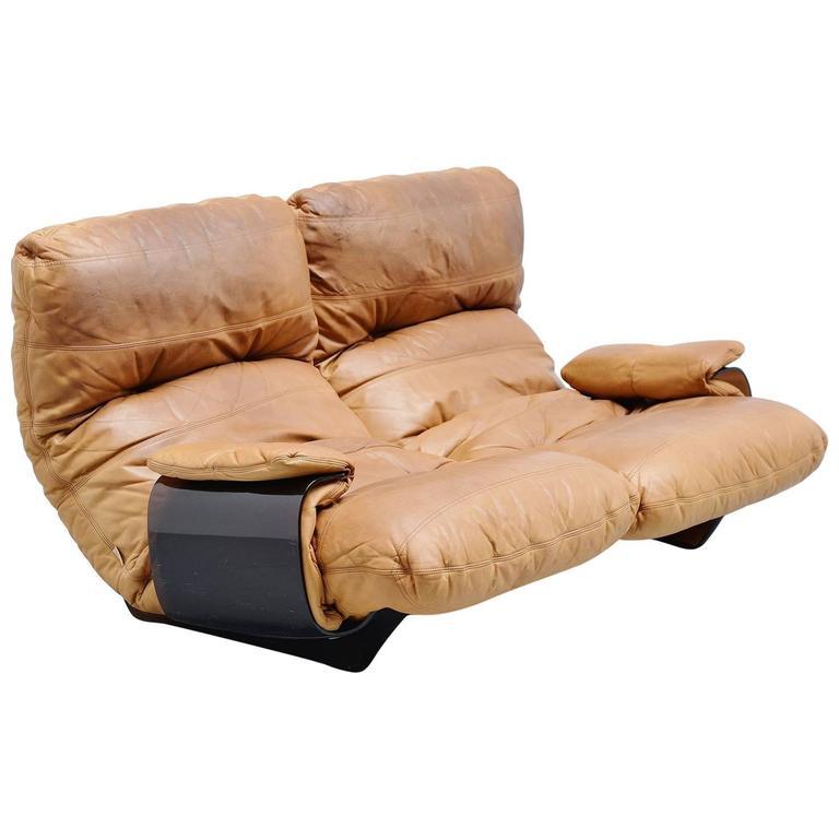 michel ducaroy 39 marsala 39 sofa ligne roset france 1970 at. Black Bedroom Furniture Sets. Home Design Ideas