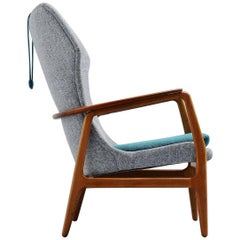 Aksel Bender Madsen Bovenkamp wingback chair Holland, 1960