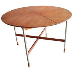 Rare Walnut Dining Table by Arne Vodder