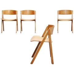 Victor Bernt Dining Chairs by Soren Willadsen, Denmark, 1972