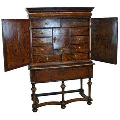 William & Mary Collector Cabinet After Coxed & Wooster
