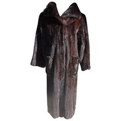 Spectacular Blackglama Mink Coat by Norman Norell