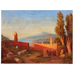 """Taormina"" Oil Painting"