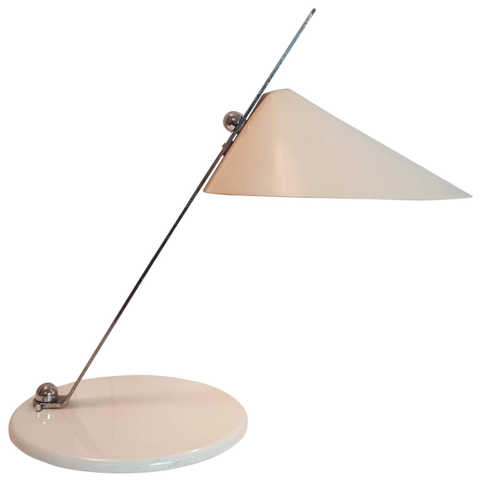Italian Adjustable Table Lamp, Milano, circa 1969