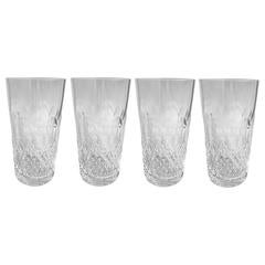 Waterford Colleen Crystal Highball Glasses, Set of Four