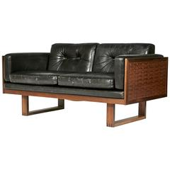 Poul Cadovius Two-Seat Sofa in Brazilian Rosewood for France & Søn