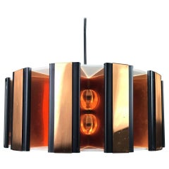 Copper Pendant by Werner Schou, 1960s