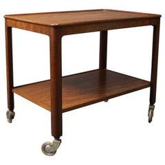 Tray Table in Mahogany of Danish Design, 1960s