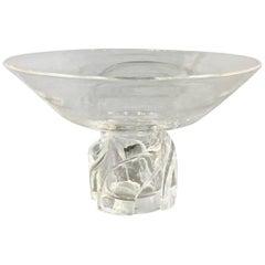 Mid-20th Century Steuben Taza or Pedestal Bowl