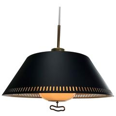 1950s Ceiling Pendant by Bent Karlby for Lyfa, Denmark