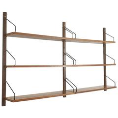 Vintage 1960s Teak Royal System Wall Unit by Poul Cadovius for Cado, Denmark