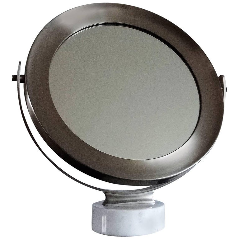 Swivel Table Mirror by Sergio Mazza - Italy, Late 1960s For Sale