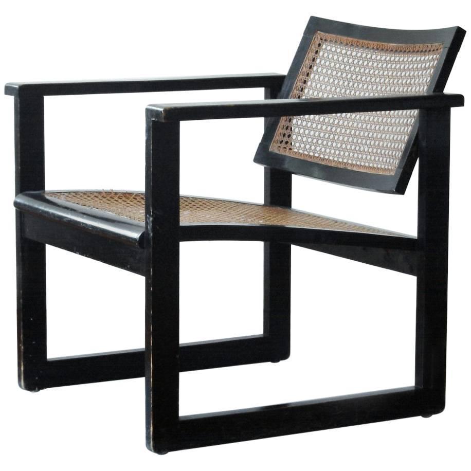 Bauhaus tubular steel lounge chair at 1stdibs - Bauhaus Wooden Armchair By Peter Keler Manufactured By Albert Walde Circa 1930 For Sale At 1stdibs