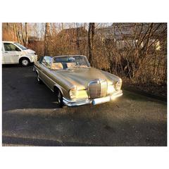 1965, Mercedes W111 Cabriolet Automobile