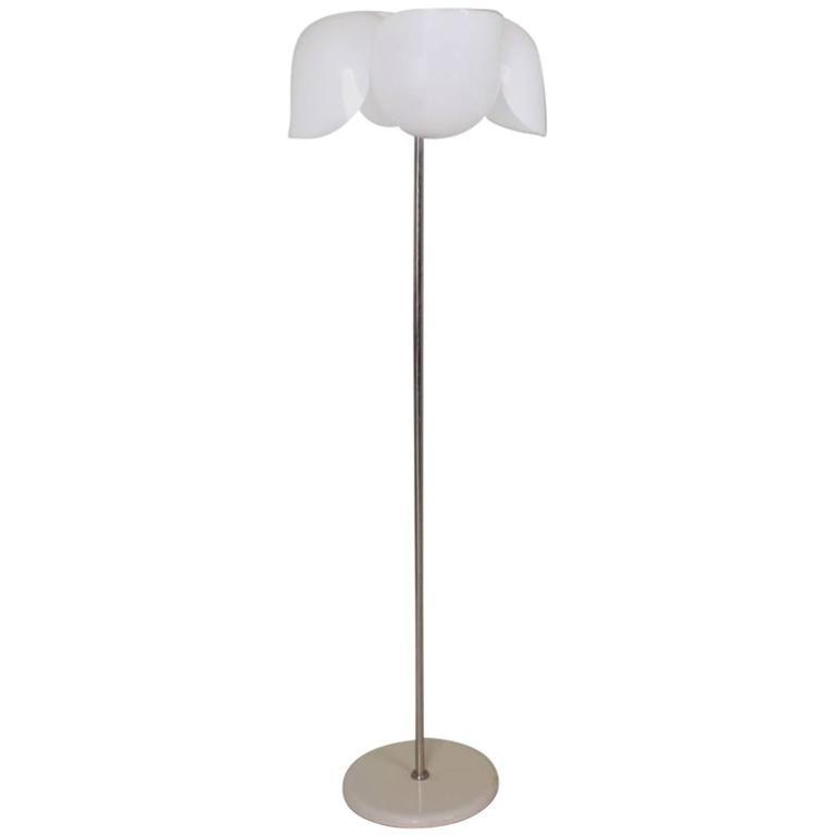 Olaf von Bohr Flower Lamp for Valenti, Italy, circa 1970