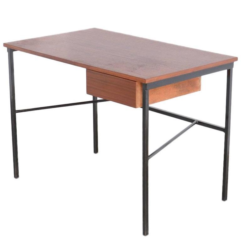 Minimal Desk CM 174 by Pierre Paulin for Trefac, Belgium