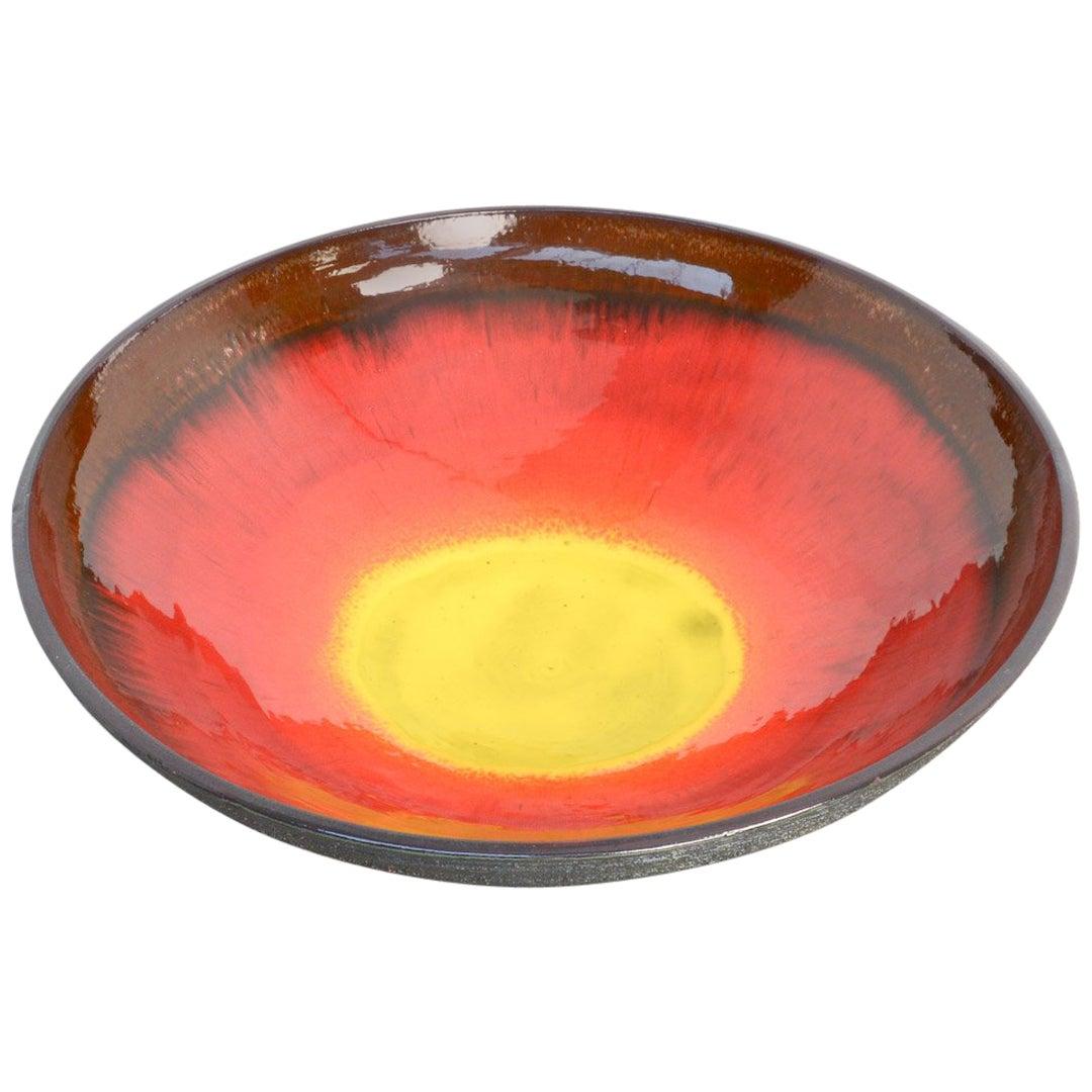 Impressive Large Ceramic Bowl by Rogier Vandeweghe for Amphora