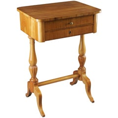 19th Century South German/West German Biedermeier Sewing Table