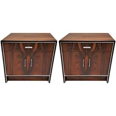 Pair of 20th Century Rosewood Falster of Denmark Side Tables