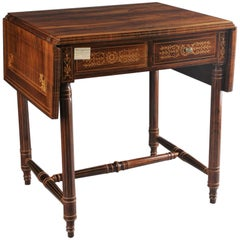 19th Century Biedermeier Folding Table