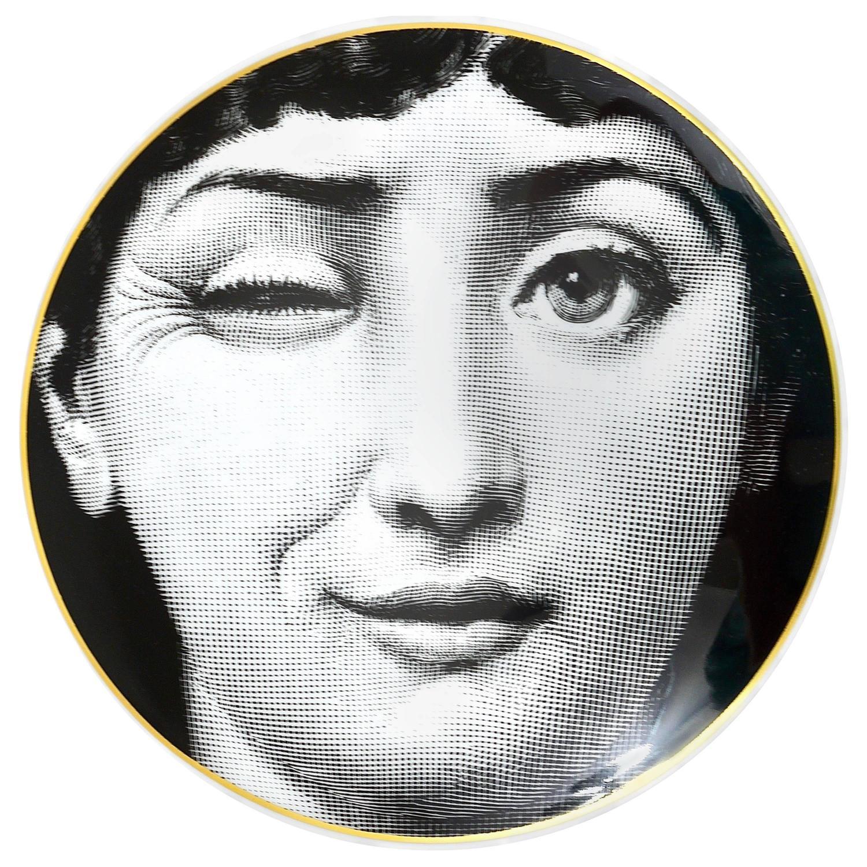 Fornasetti Art Prints Piero Fornasetti Wall Plate Temi E Variazioni Lina Cavalieri