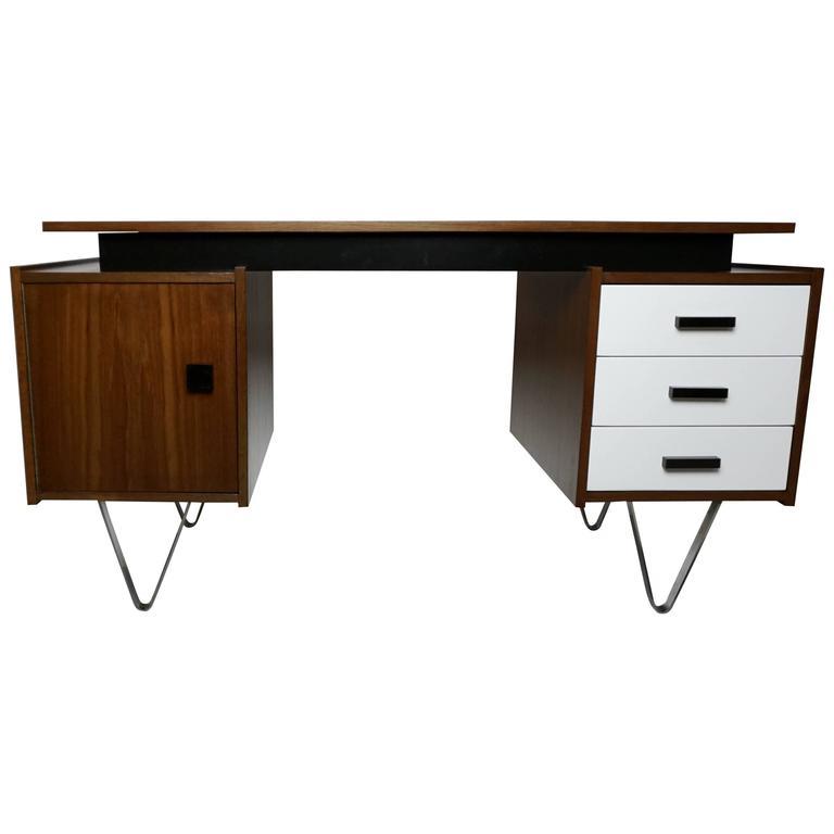 Unusual Cees Braakman for Pastoe Desk 1