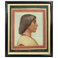 Renaissance Revival Framed Tapestry by Gobelin after P-V Galland