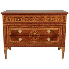 Neoclassical Commode, Style of Giuseppe Maggiolini, Italy, 19th Century