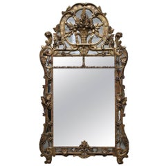 Large French Regence Mirror