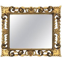 Style Neoclassical Revival Giltwood Mirror, circa 1950