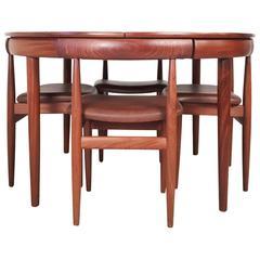 Roundette Dining Suite by Hans Olsen for Frem Rojle