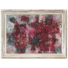 Abstract in Reds