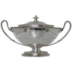 Antique Sterling Silver George III Soup Tureen London 1789 John Scofield