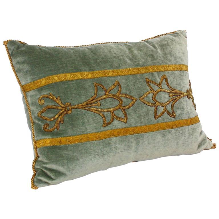 Antique Textile Pillow By Rebecca Vizard Of B Viz Design For