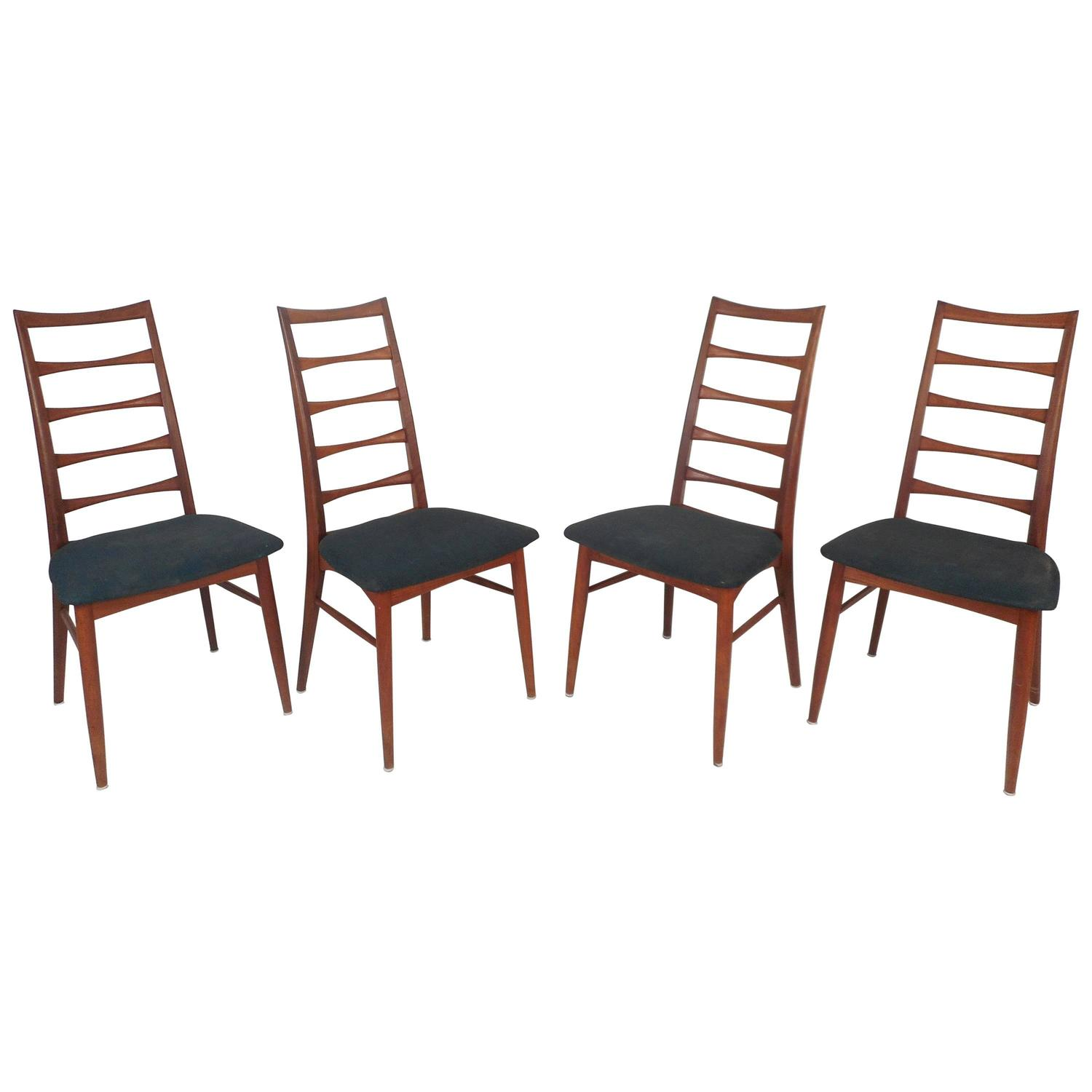 Architectural Modern Dining Chairs by Morris of California Mid