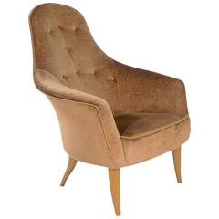 'Large Adam' Upholstered Easy Chair by Kerstin Hörlin-Holmquist