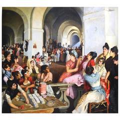 """""""Cigarreras in Seville"""" Ralph Wormeley Curtis"""