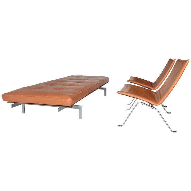 Poul Kjaerholm Suite Of Furniture At 1stdibs