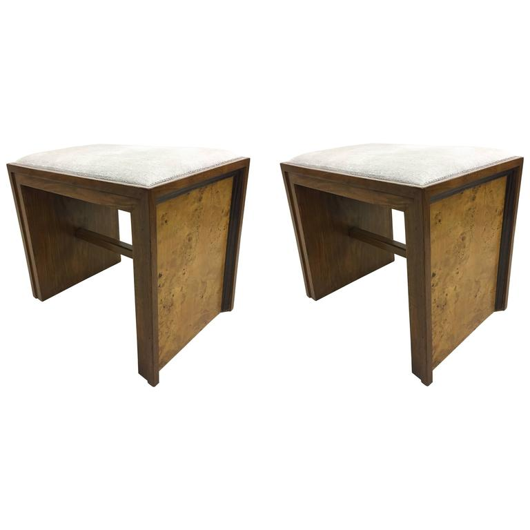 Pair of Italian 'Rationalist' Benches, circa 1930 For Sale