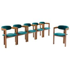 Set of Six Italian Bentwood Dining Chairs