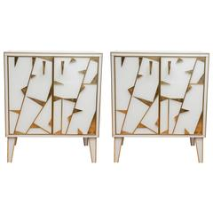 Pair of Mirror Cabinets