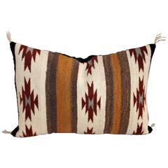 Navajo Indian Weaving Eye Dazzler Pillow