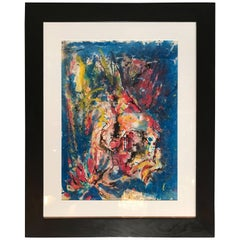 Abstract Gouache by Hendrik Grise