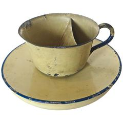 "Magic ""Trick Cup and Saucer"", circa 1890s, American"