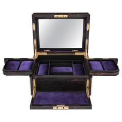 Betjemann Jewelry Box with Automatic Mechanism