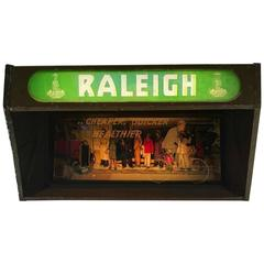 Raleigh Cycles Advertising Light Box