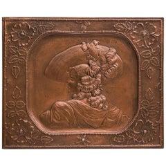 Copper Relief, circa 1905
