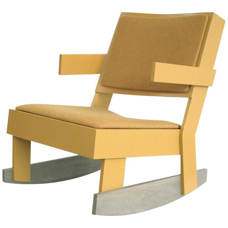 Adult Rocker by Tom Frencken in Painted Birch Plywood